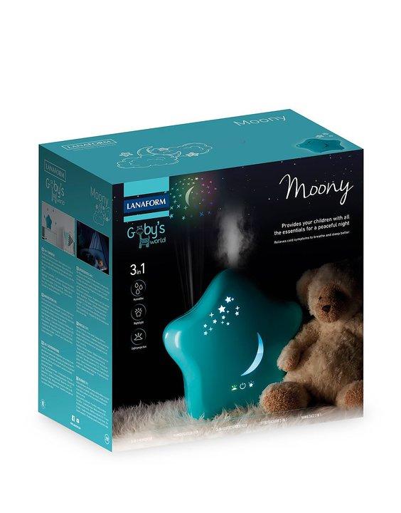Moony Luftfuktare med nattljusfunktion