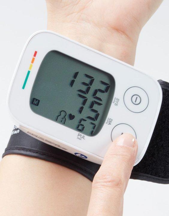 Blodtrycksmätare för handled
