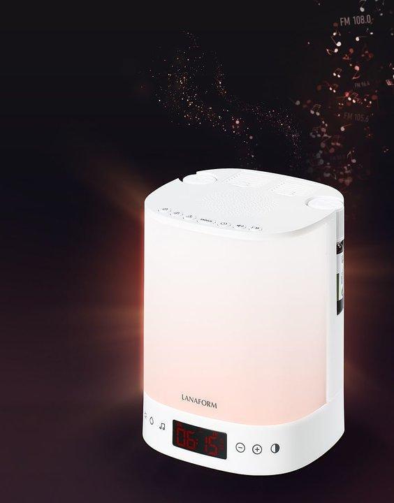 Wake-Up Lampa SCENTS med doftspridare