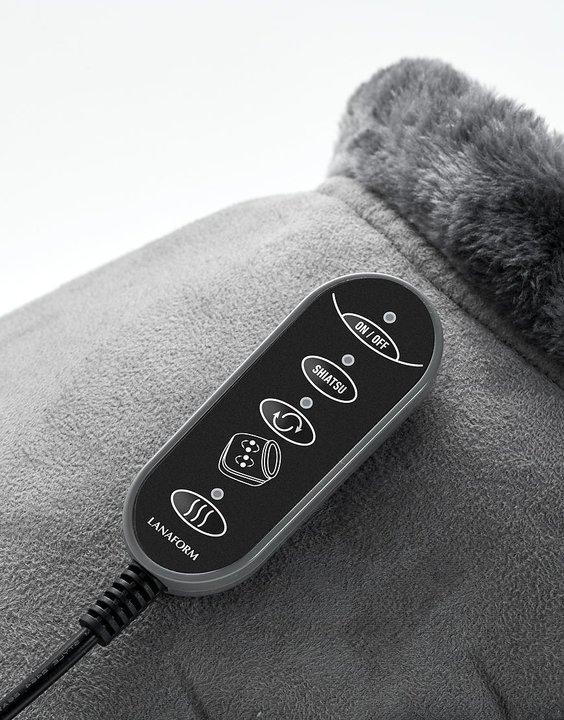 Fotvärmare med massage 2-i-1 - Shiatsu Comfort